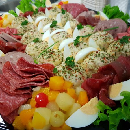 Vlees salade's